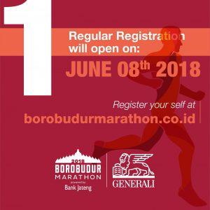Generali mensponsori Borobudur Marathon 2018